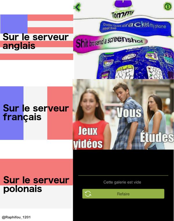 Les memes français sont les pires