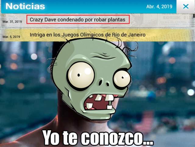 Dichosos zombies hervívoros - meme