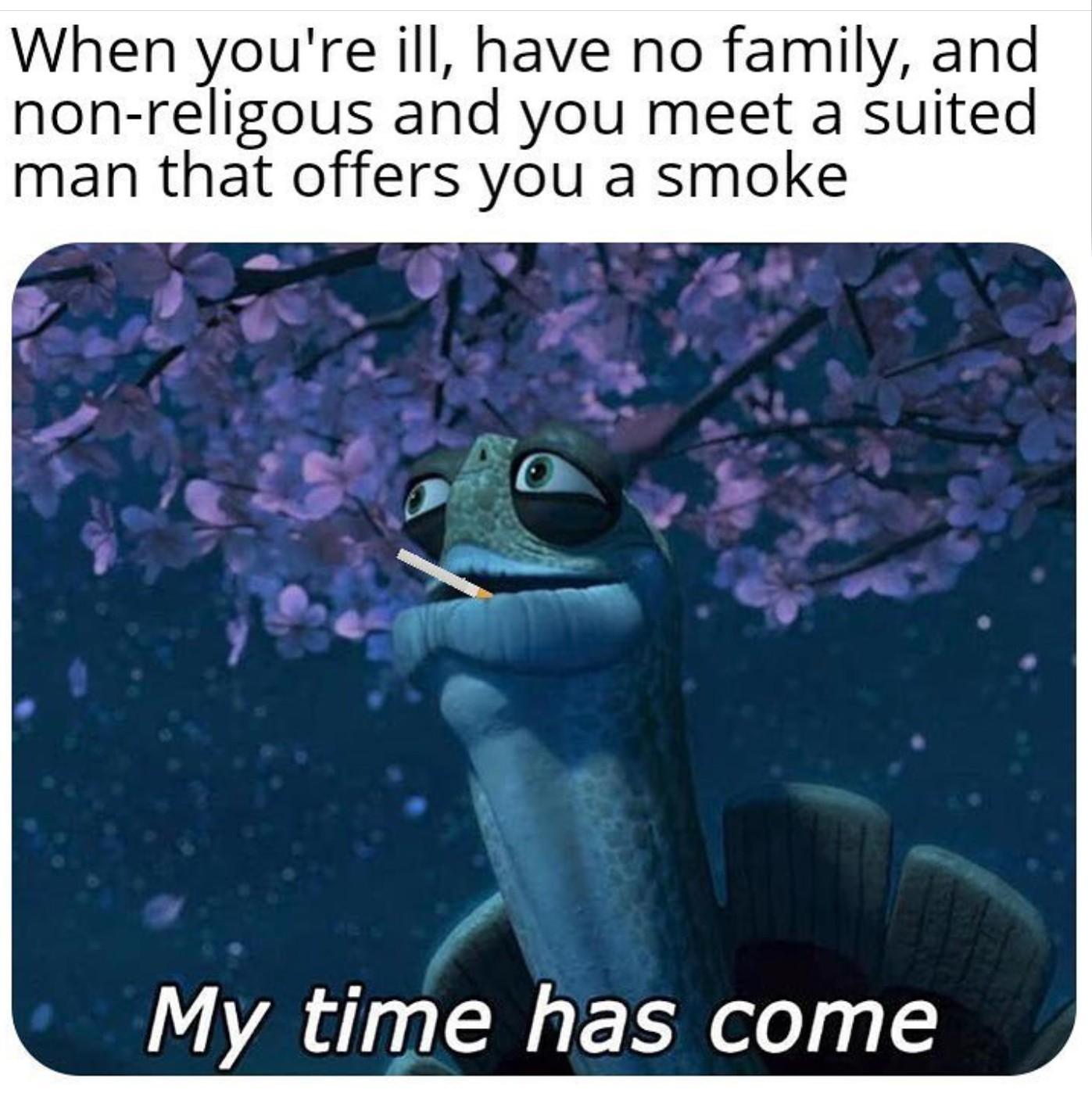 He [REDACTED] - meme