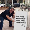 Phil Swift accidentally made a new meme format