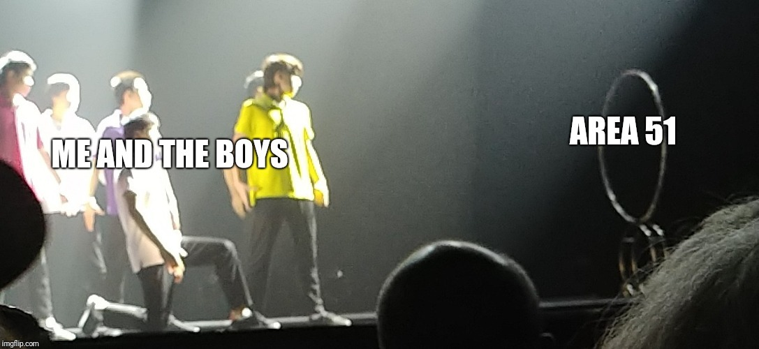 The boys and I - meme