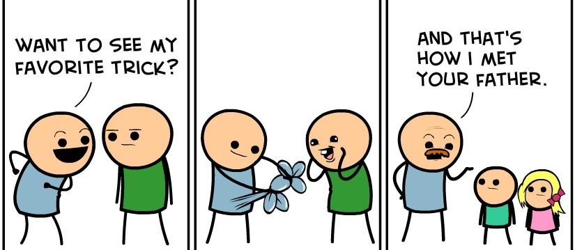 Magic trick - meme