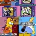 Bart se volvió joto...