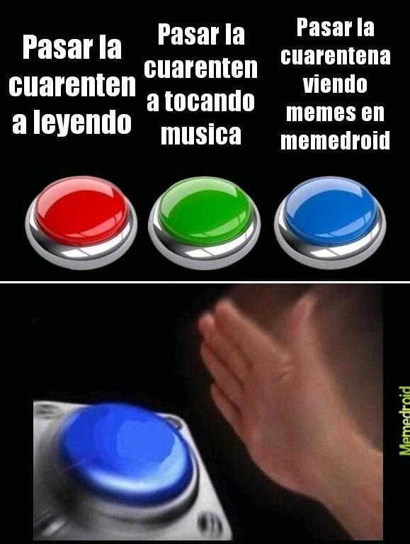 Memes en cuarentena