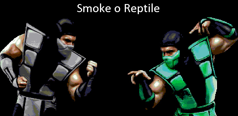 Smoke o Reptile - meme