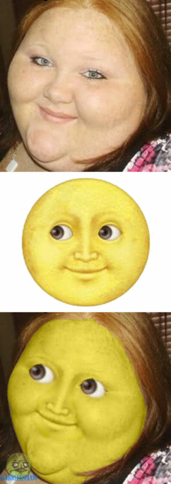 Sun Emoji IRL  - meme
