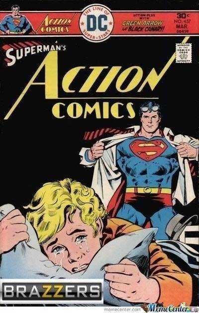 Superman brazzers - meme