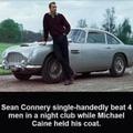 Man like Sean Connery