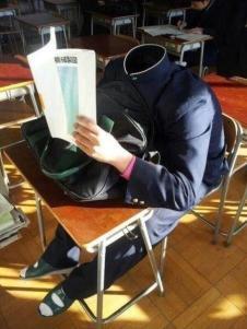 El Estudiante Sin Cabeza - meme