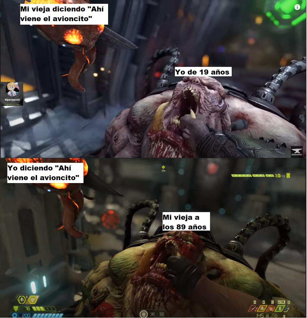 Glory-kill-meme. Procedan a reírse