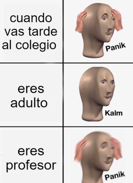 panicoooooooooooo - meme