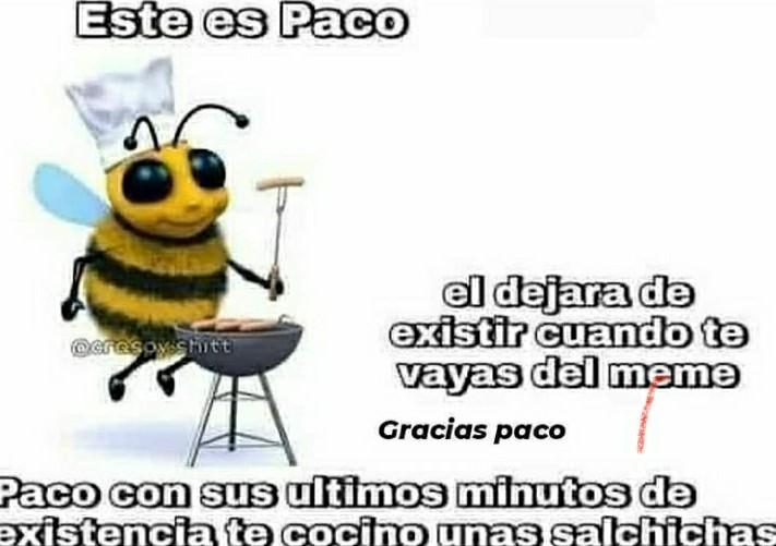 Gracias paco - meme