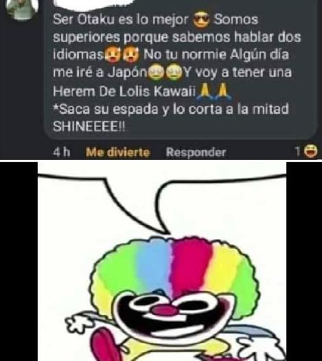 pelo payaso - meme