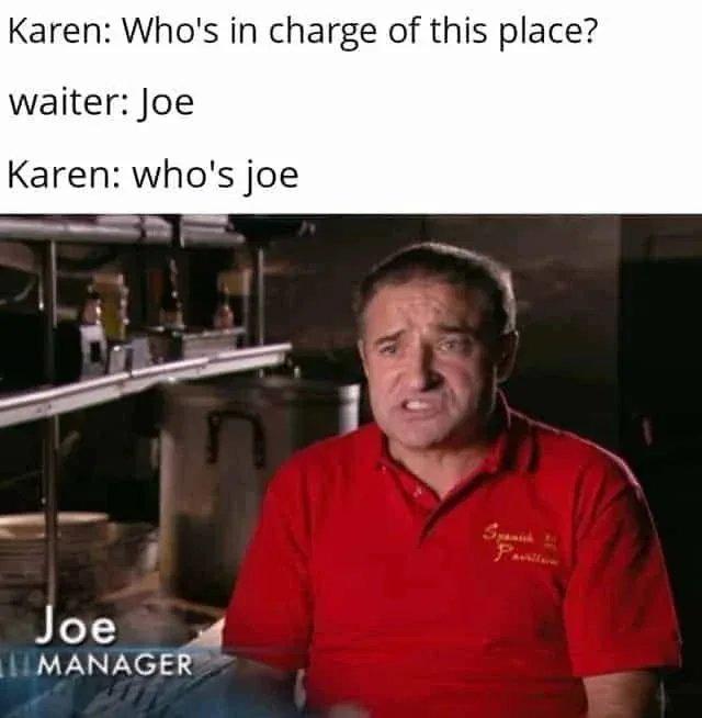 JOE MANAGA - meme