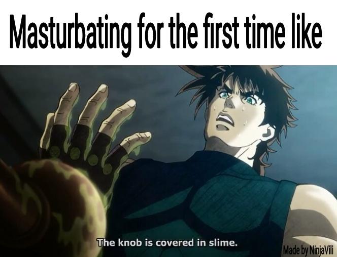 JoJo's Bizarre Adventures - meme