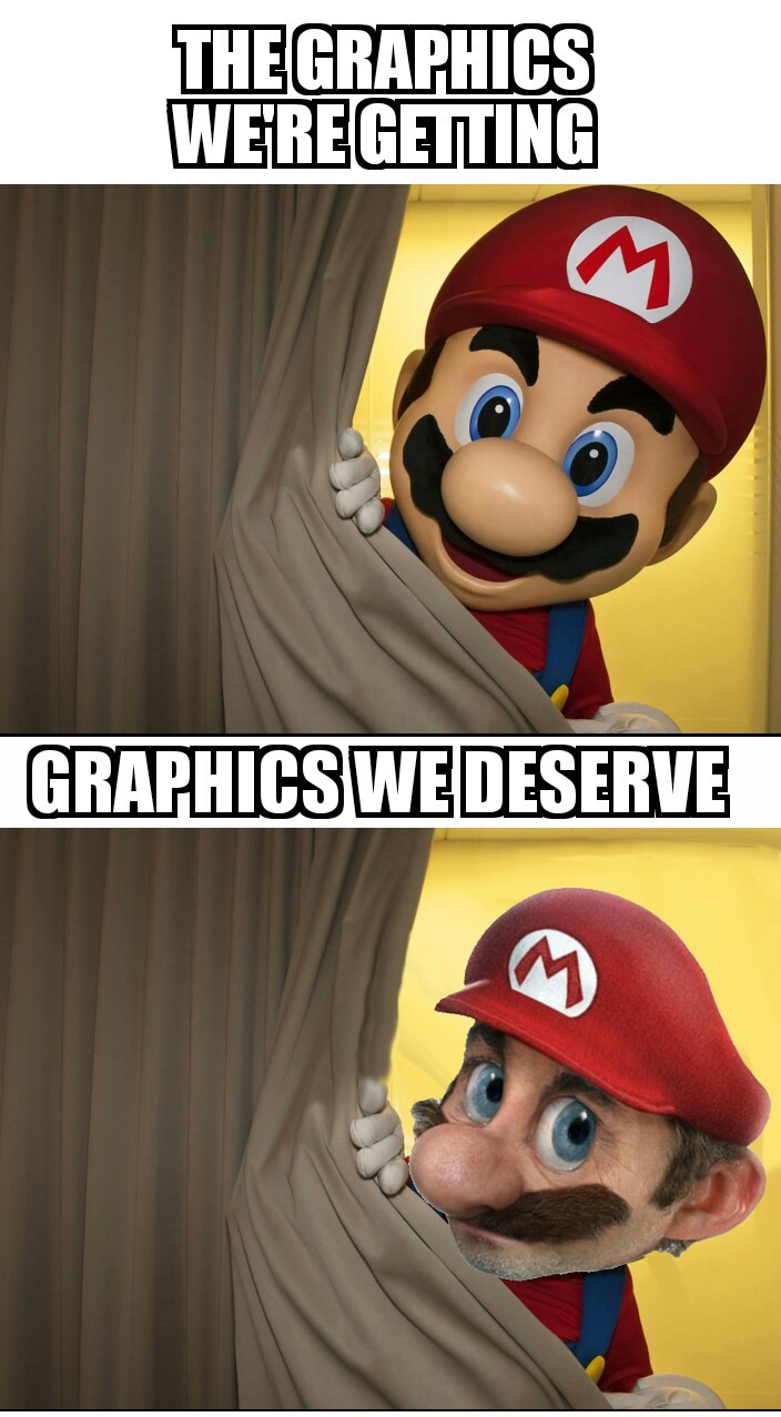 Main menuLuigi memesOhhhh noooooo......Let's go!TrueThicc WeegeeLuigiana purchaseevery timeMario vs Luigi opinionRelatable lolTrue storyMatter of opinionCookies!!!!What is thisluigi-What are the Mario Bros views on pools?Waluigi needs to be in smashFucking hell nintendonoice mah dudik old but still goodI had to much timeLuigiPopular Tags