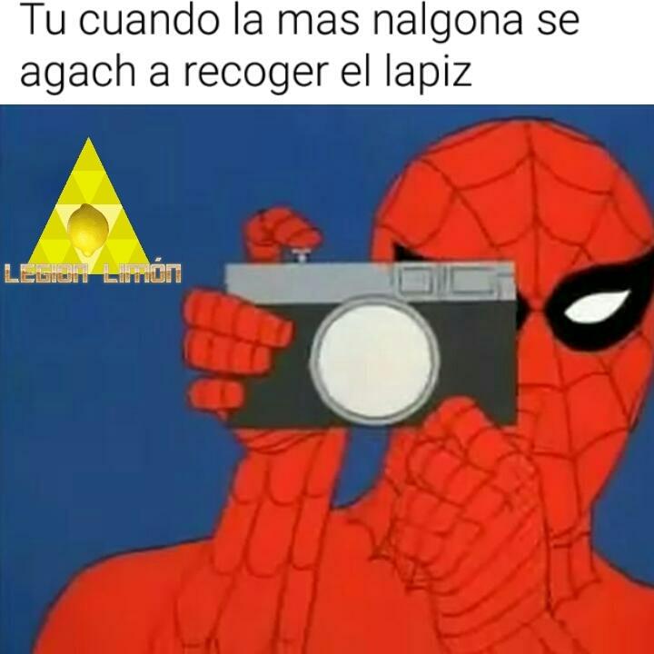 Spider pervertido - meme