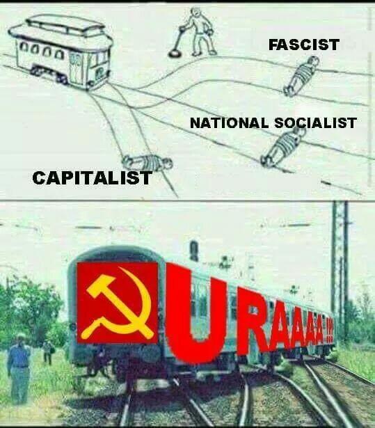 Até o comboio pára - meme