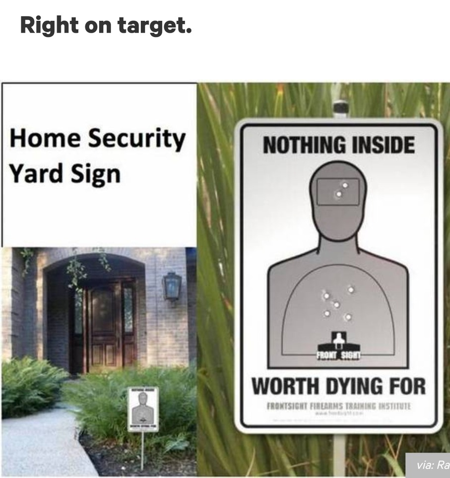 Enter at own risk - meme