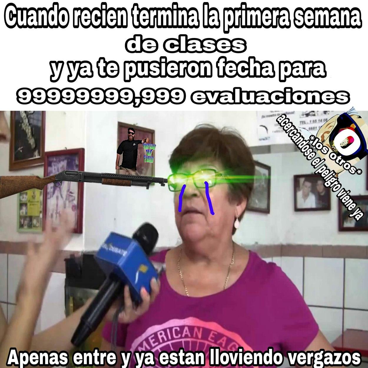A la wea - meme