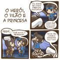 O Herói, O Vilão e A Princesa