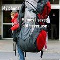 I save tons of memes