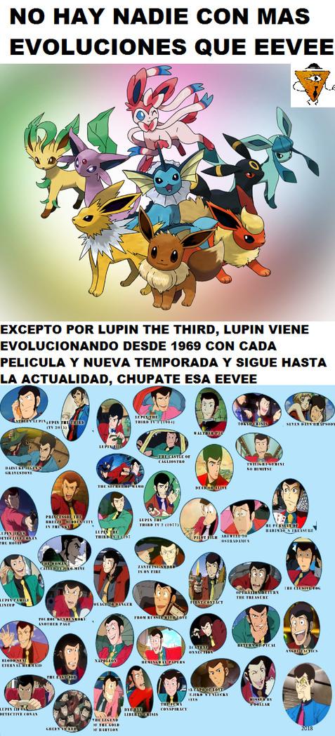 Lupin, sin duda el mejor - meme