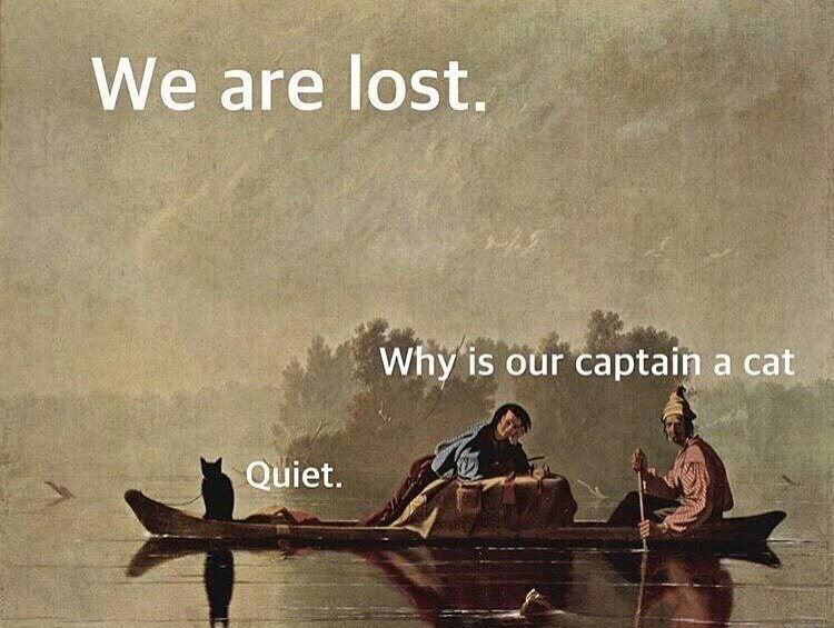 Old paintings are the best - meme
