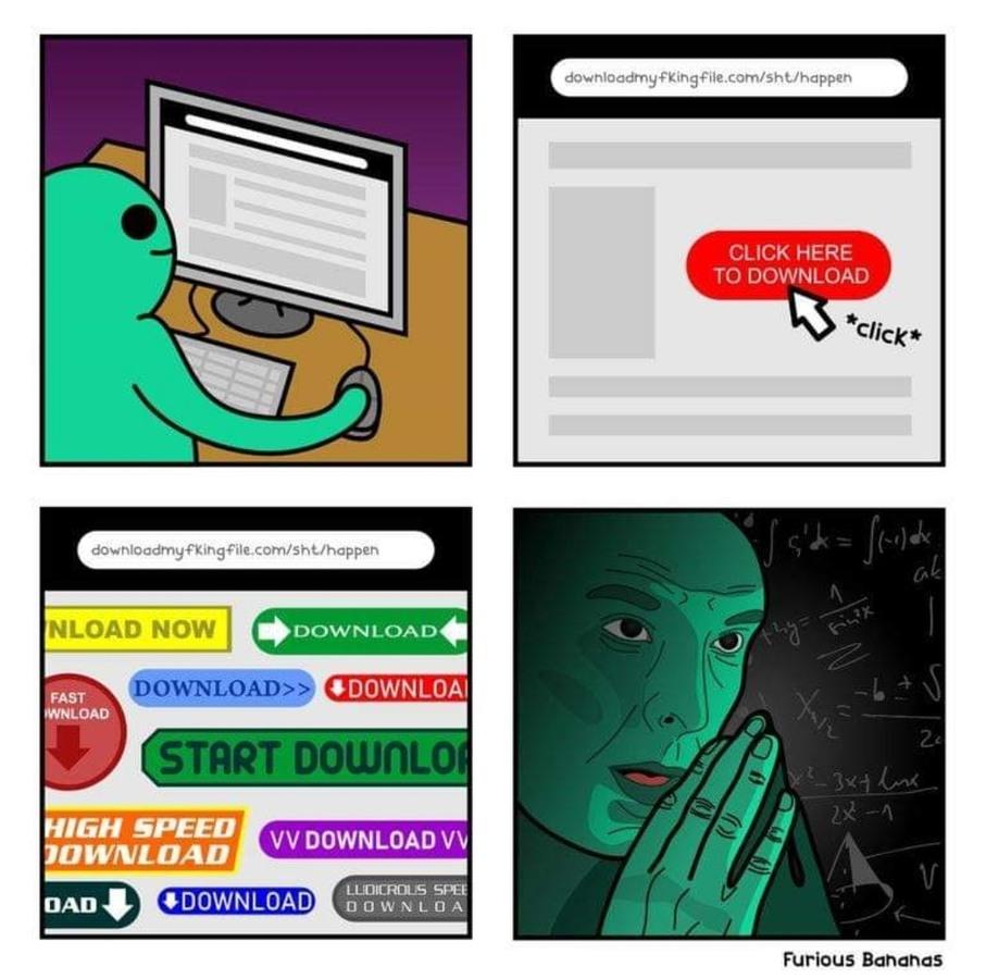 A decisão da sua vida - meme