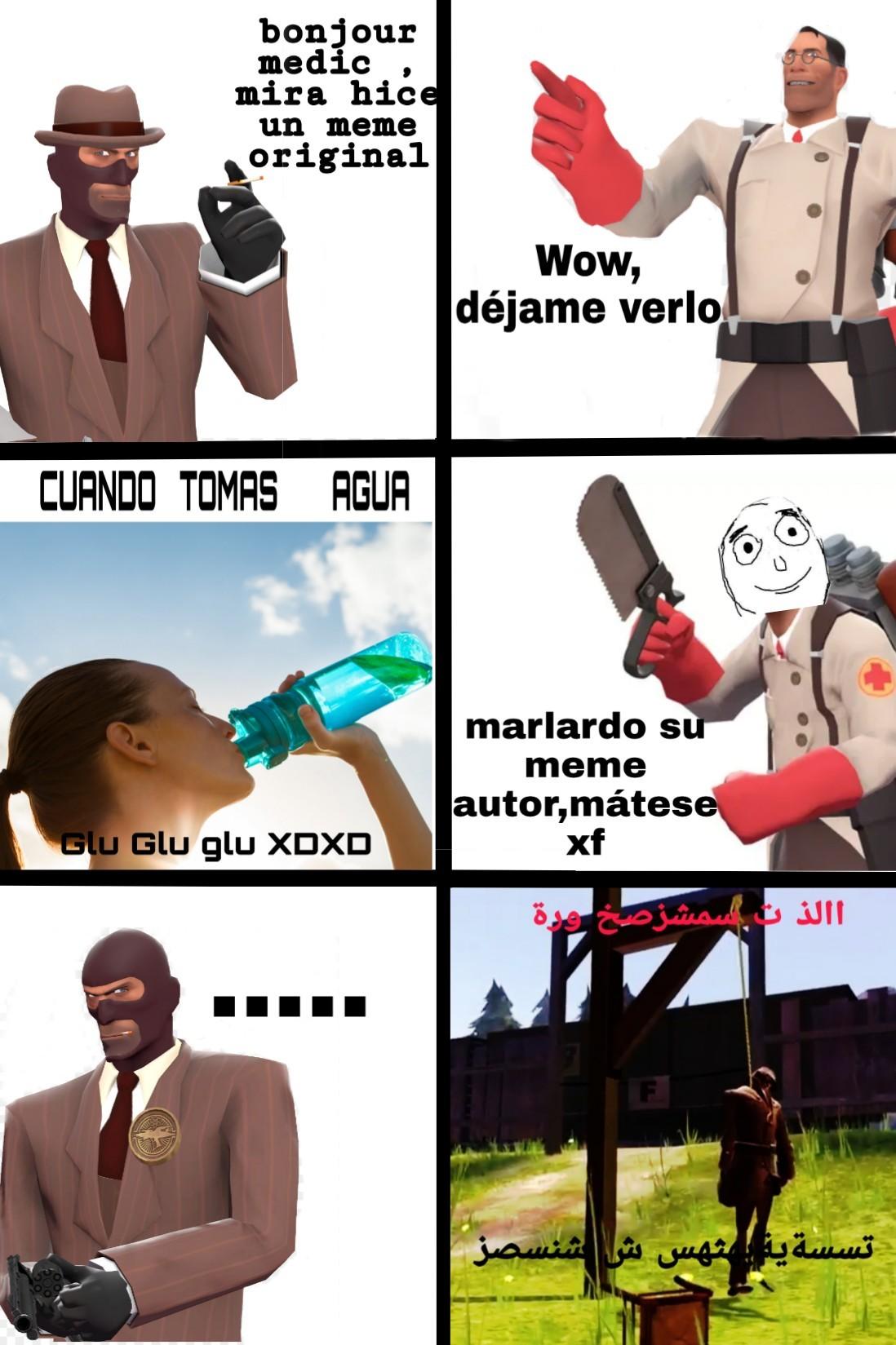 Que un meme sea original, no lo hace automaticamente bueno