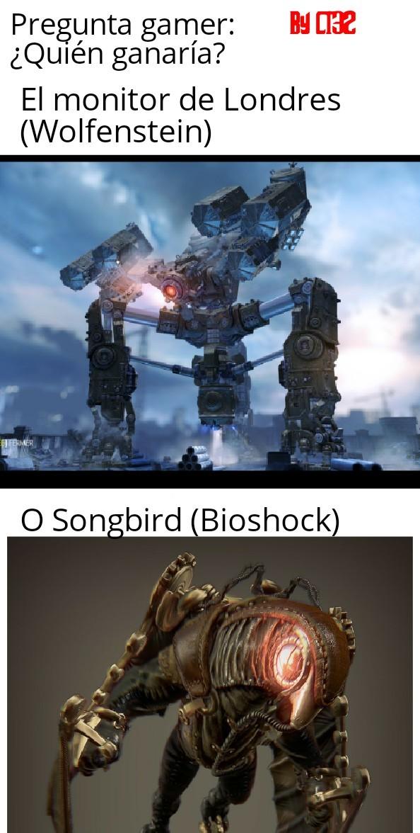 Yo escogí al monitor - meme