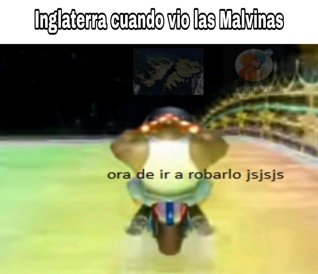 Estúpidos españoles - meme