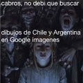 Se que es un aceptado fácil, pero no pueden creer lo que vi..no entiendo porque shipean a Chile & Argentina si son enemigos