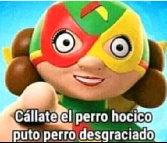 Noo mama lucha - meme