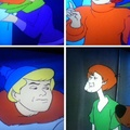 Shaggy is stoned