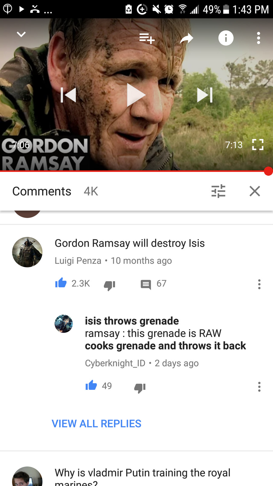 Gordon Ramsay is Jesus - meme
