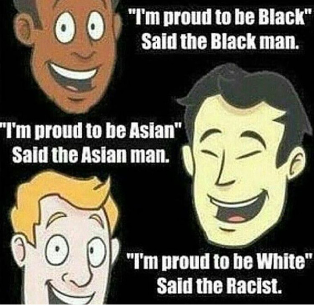 59796fb90fb52 racism is a crime and crime is for black people meme by captainrex