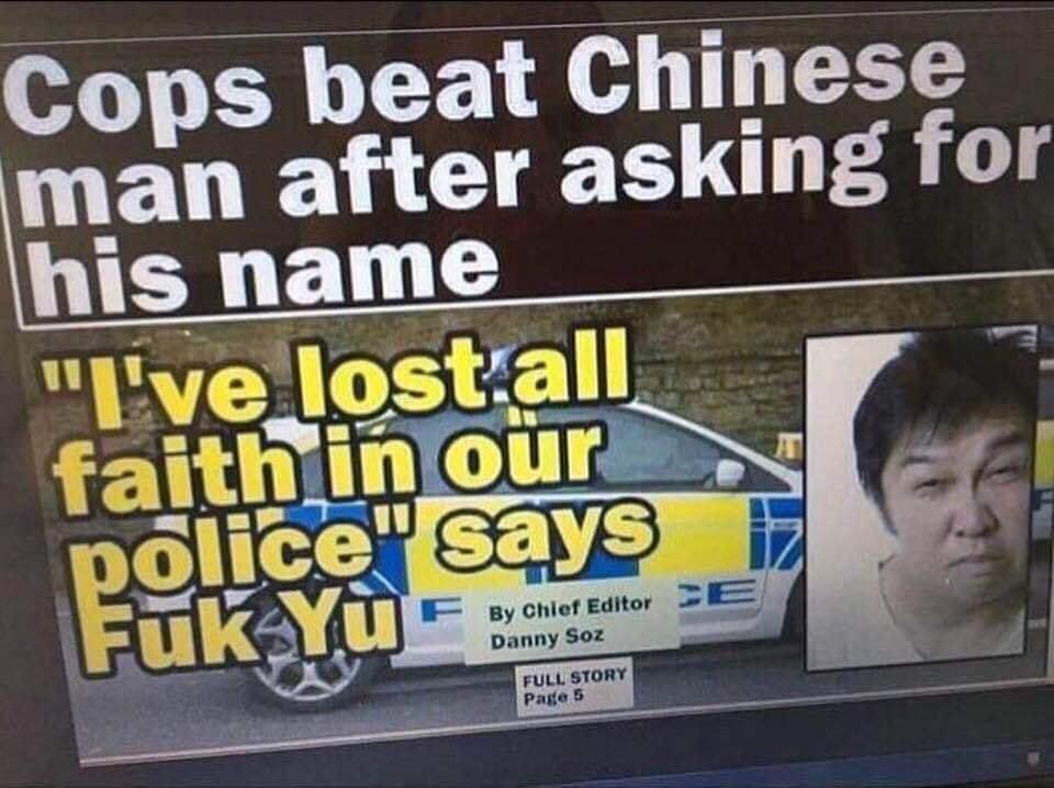 Fuk Yu - meme