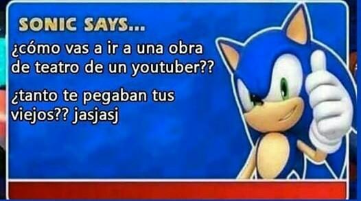 Patética decadencia de youtubers - meme