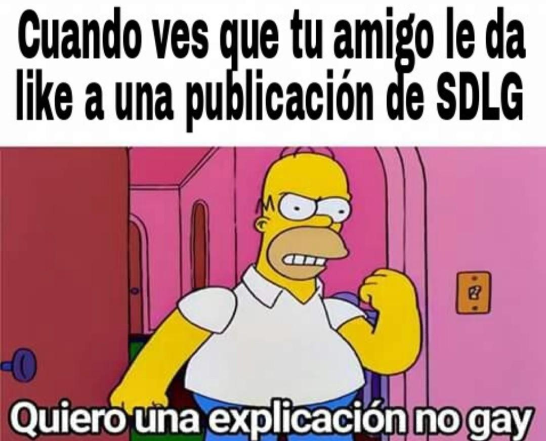Muerte SDLG - meme