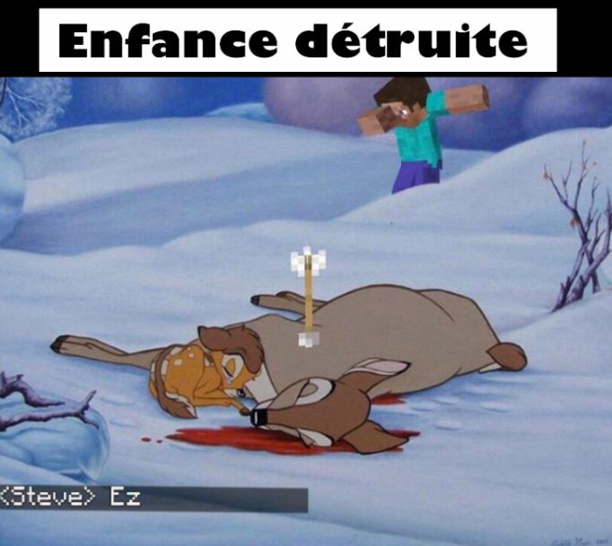 Enfance détruite 5 - meme