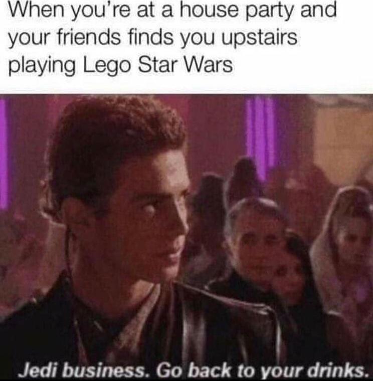 Jedi business - meme