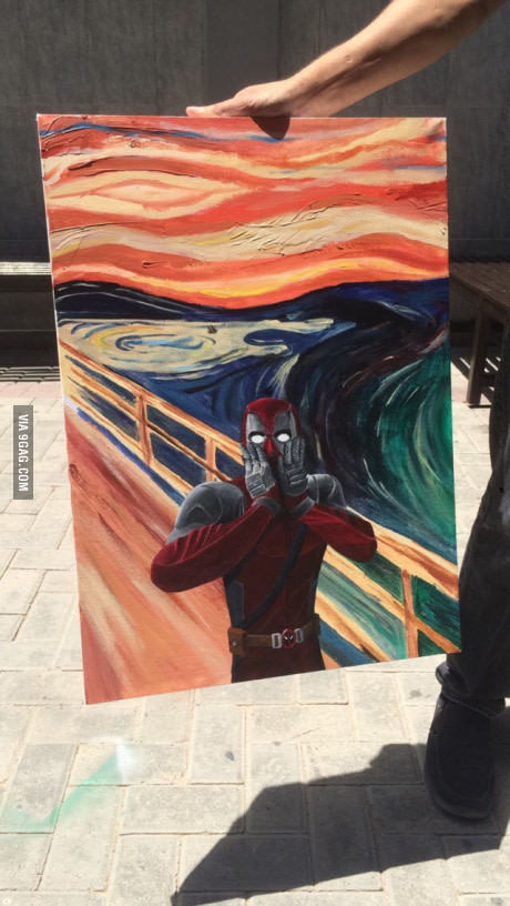 Cri deadpool - meme