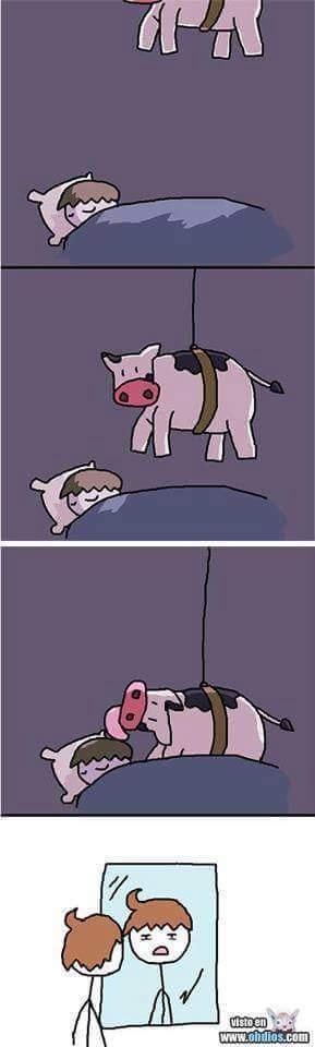 Las vacas son las culpables :c - meme