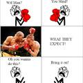 Imagination Vs Expectation (Fight)