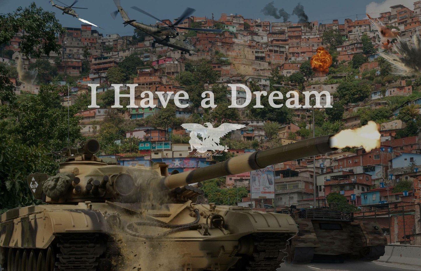 soh bora destruir a favela - meme