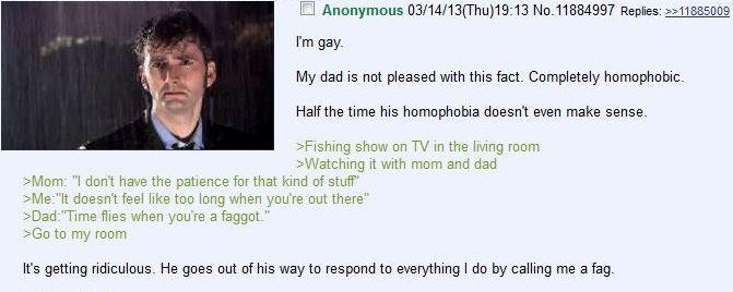 time flies when youre a faggot - meme