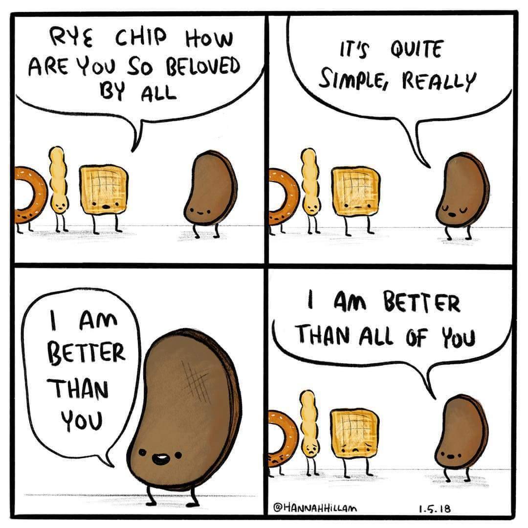 Snack humor.. - meme