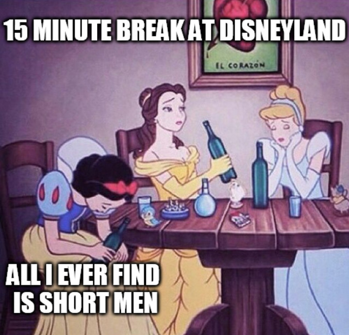 Drunk Princesses - meme