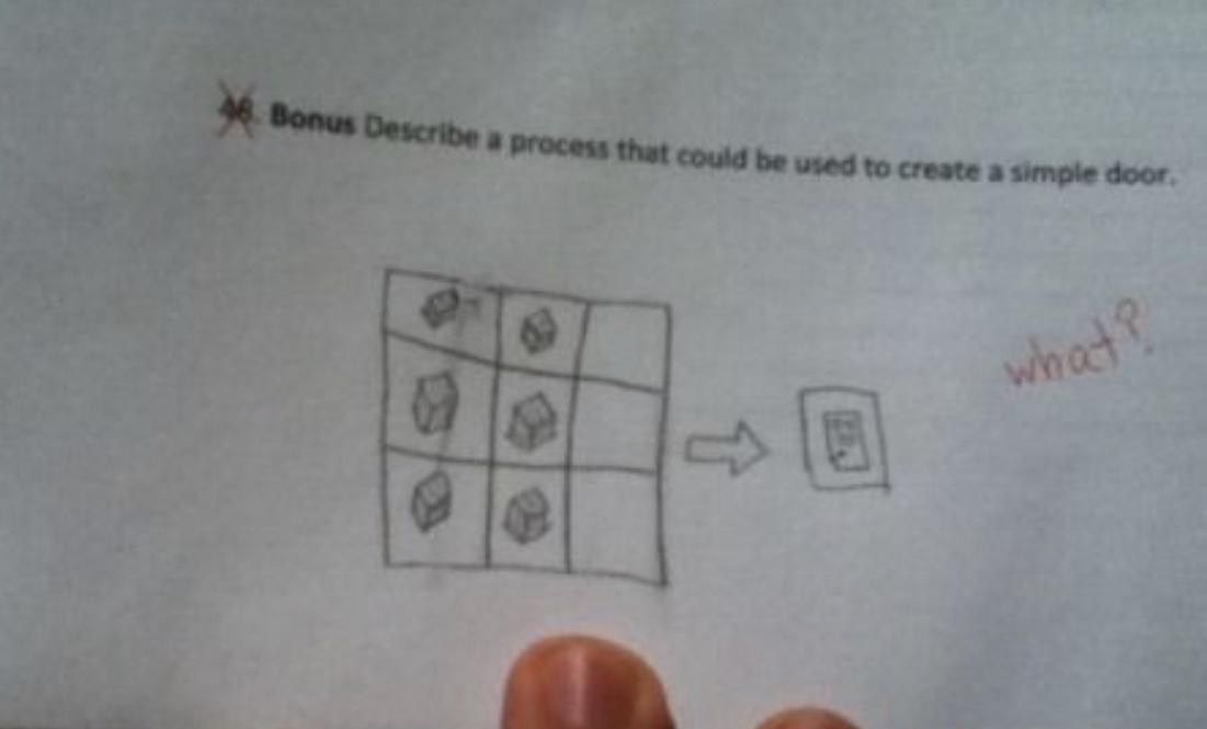 how to make a door - meme
